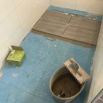 Bodenfliesen Badezimmer EG