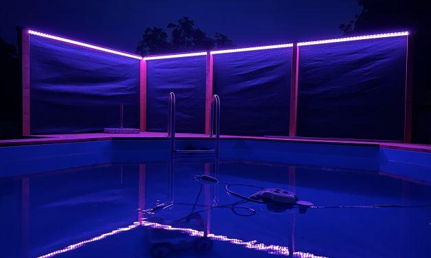 Poolbeleuchtung mit WS2812B LED-Strip